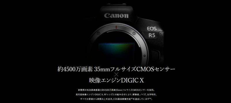 Canon EOS R5の写真