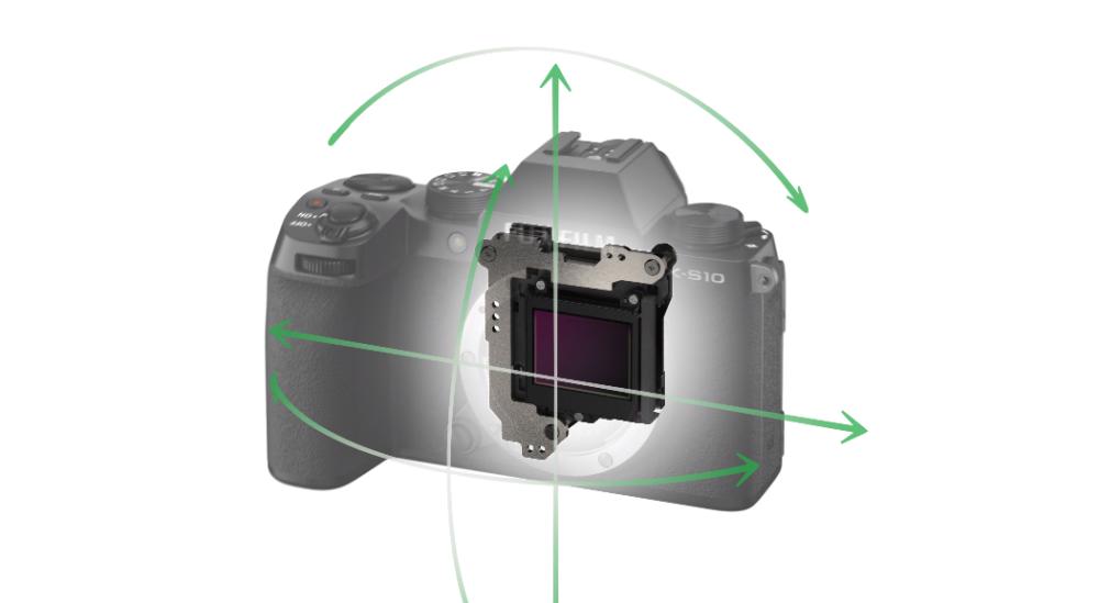 FUJIFILM X-S10の6.0段分のボディ内手ブレ補正