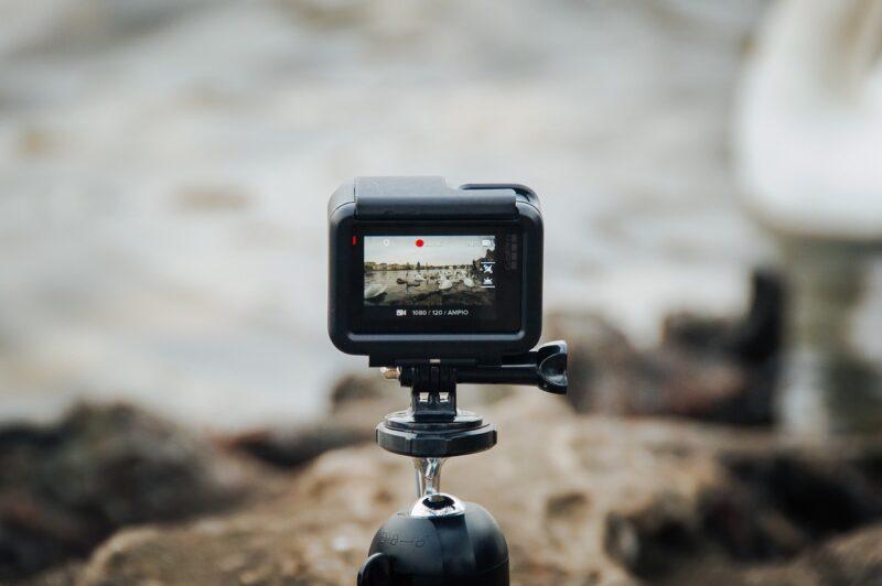 アクションカメラの画像