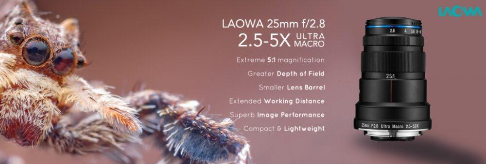 LAOWA 25mm F2.8 2.5-5X ULTRA MACROの写真