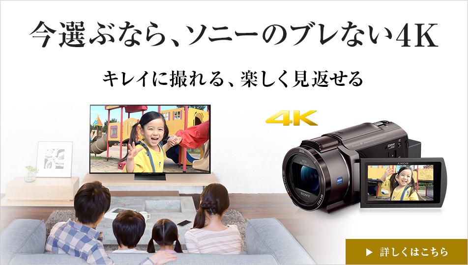 SONYのビデオカメラ