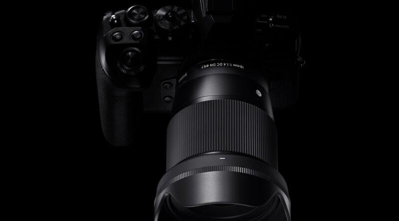 SIGMA 16mm F1.4 DC DNの写真