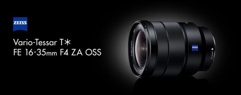 SONY Vario-Tessar T* FE 16-35mm F4 ZA OSS SEL1635Zの写真