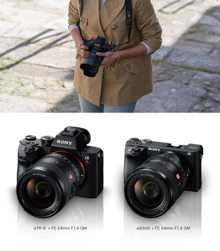 SONY FE 24mm F1.4 GM SEL24F14GMの写真