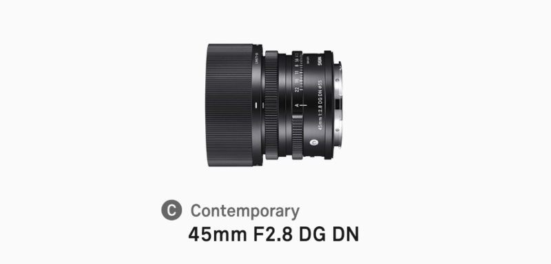 SIGMA 45mm F2.8 DG DNの写真