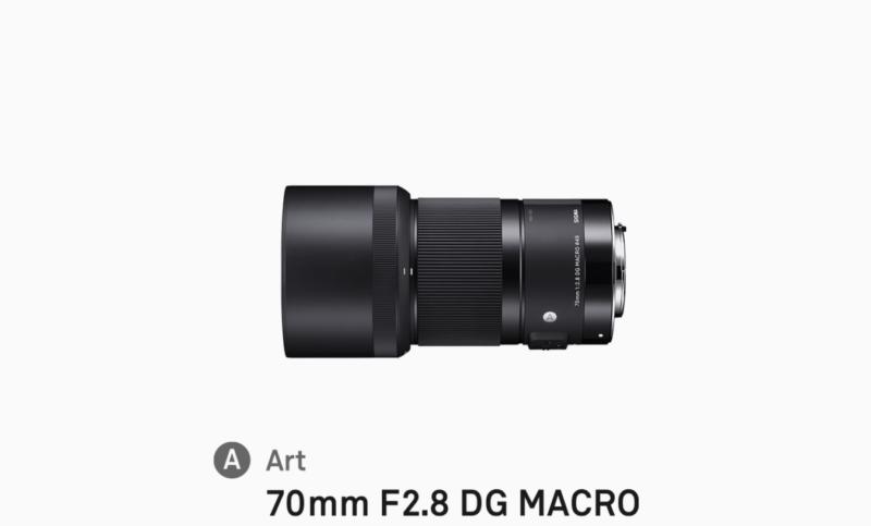 SIGMA 70mm F2.8 DG MACROの写真