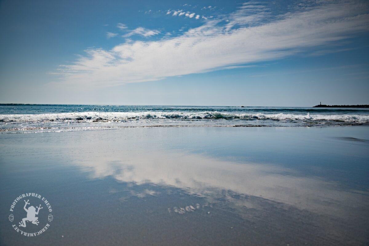 黒潮町入野海岸を撮影
