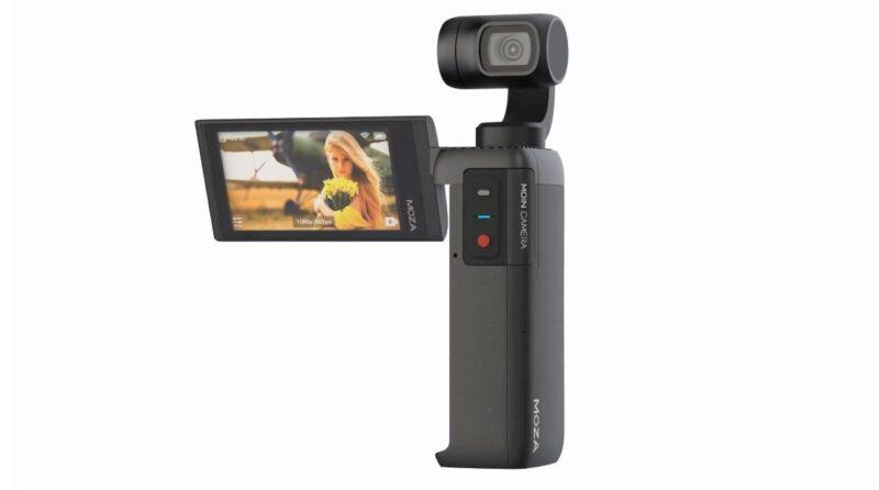 MOZA MOIN Cameraのモニター画面