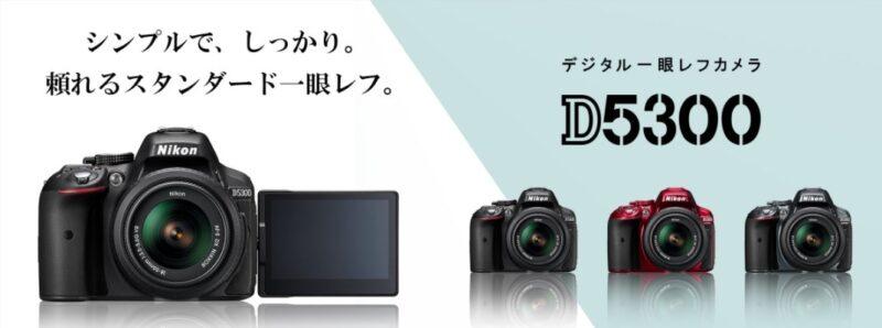 Nikon D5300の画像