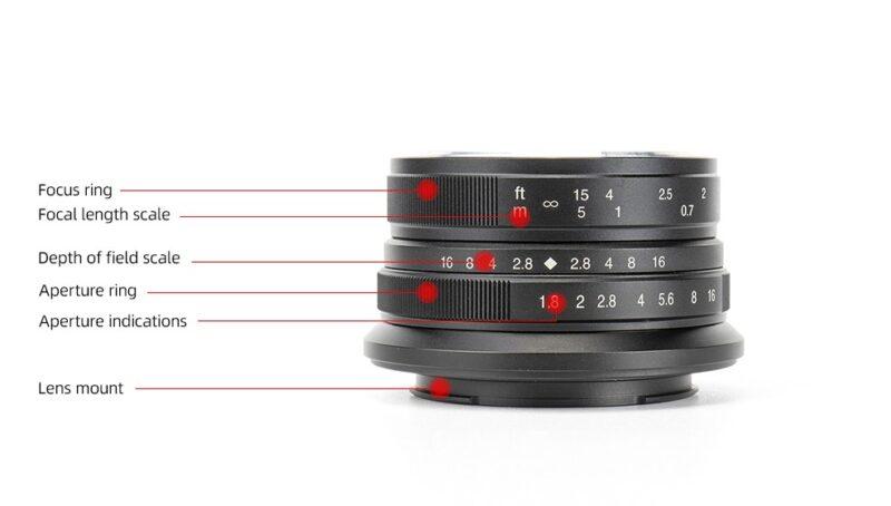 7artisans 25mm F1.8の画像