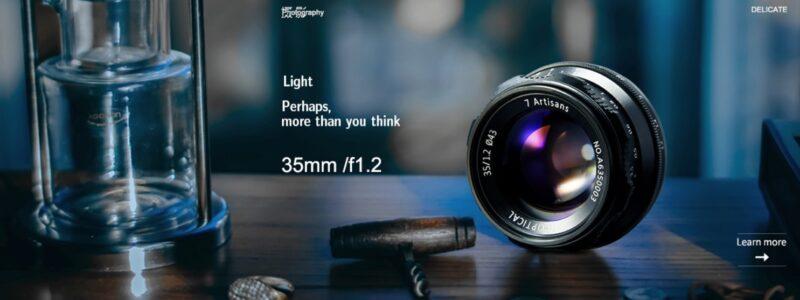 7artisans 35mm F1.2 3512FXBの画像