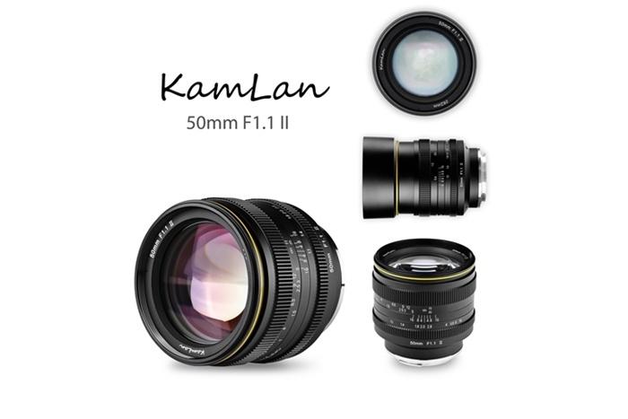 KAMLAN 50mm F1.1 IIの画像