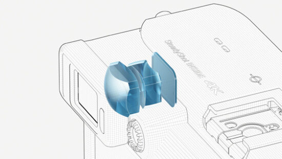 SONY α7Cの電子ビューファインダー
