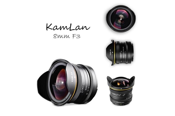 KamLan 8mm F3.0 Fisheyeの画像
