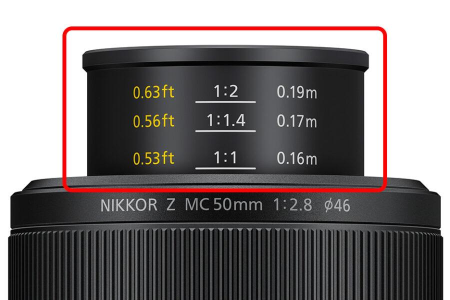 NIKKOR Z MC 50mm f/2.8のマクロ性能