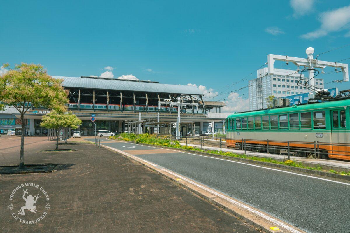 竜とそばかすの姫のロケ地「高知駅」