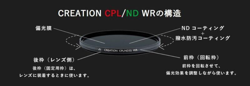 マルミ光機のCREATION CPL/ND WRの画像