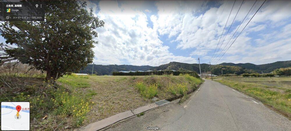 出間ひまわり畑の駐車場